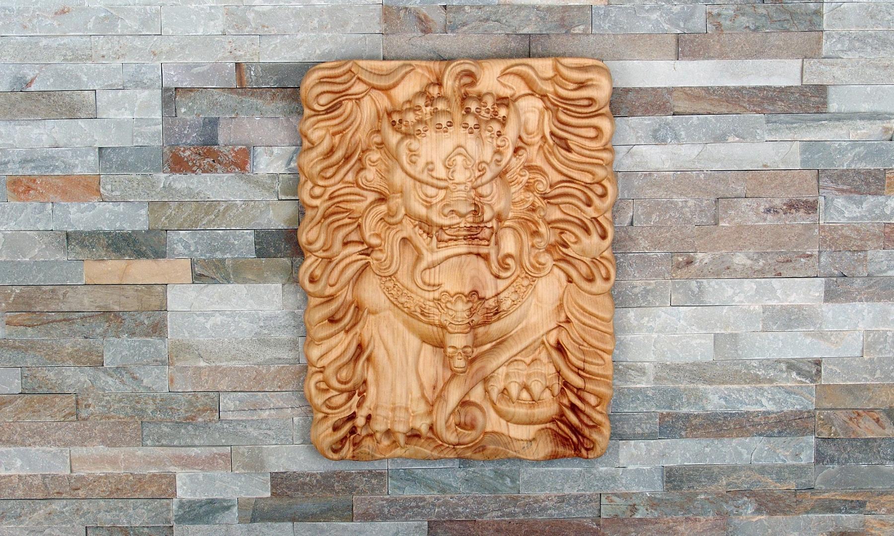 Lion gardien chinois