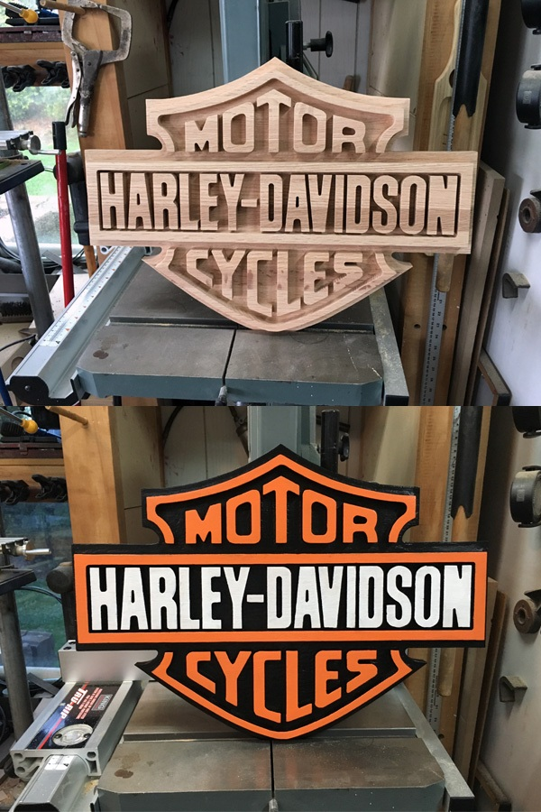 Gravure Harley-Davidson