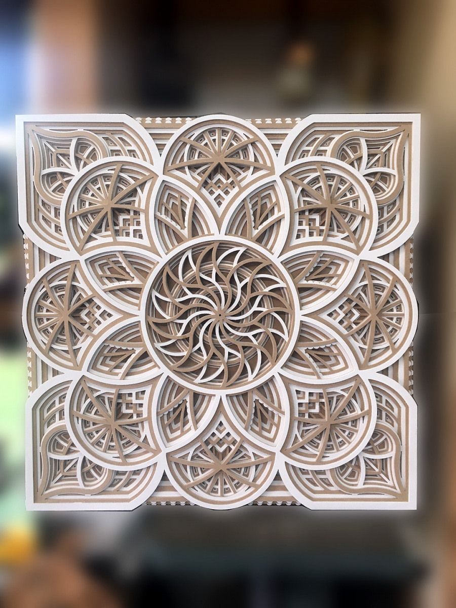 Mandala-3D-carre-2couleurs