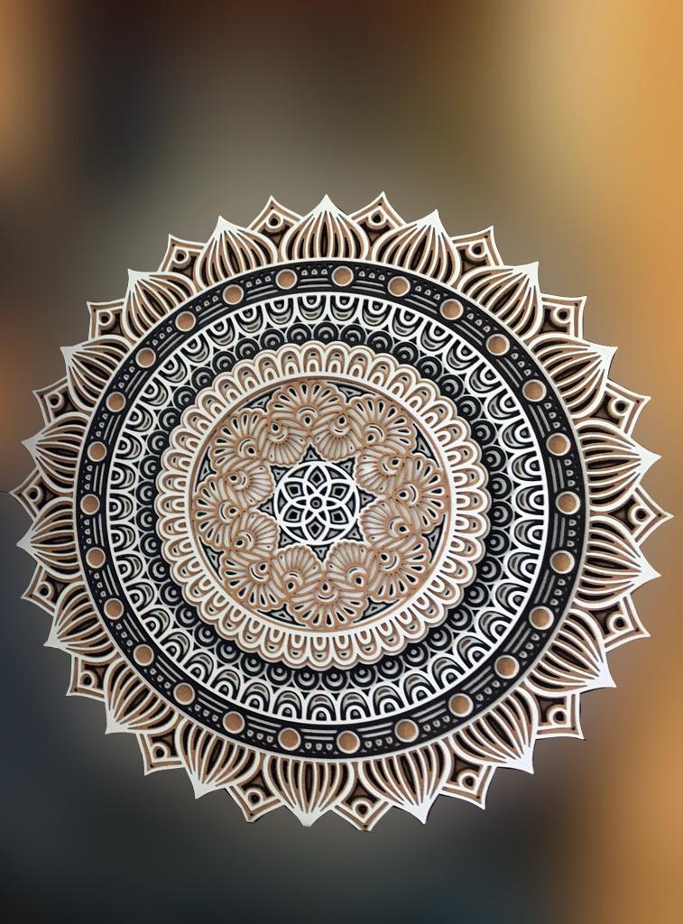 Mandala-dentelle