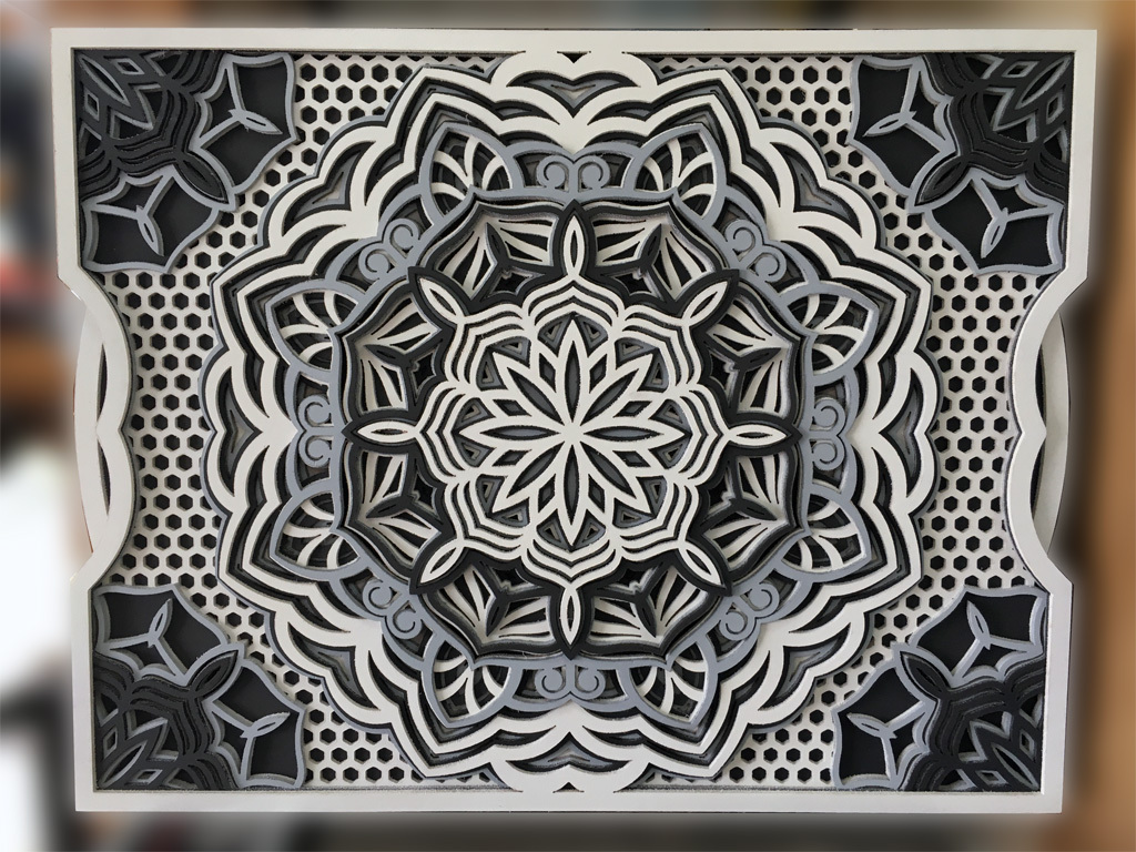 Mandala-rectangle-abeille