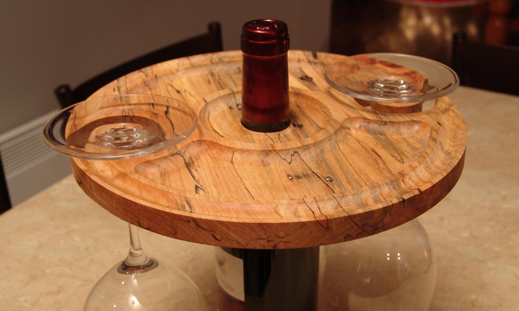 Support de verre à vin pour bouteille de vin