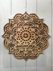 Mandala 24 pouces