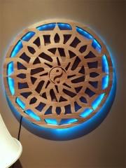 Mandala rétro éclairé par led